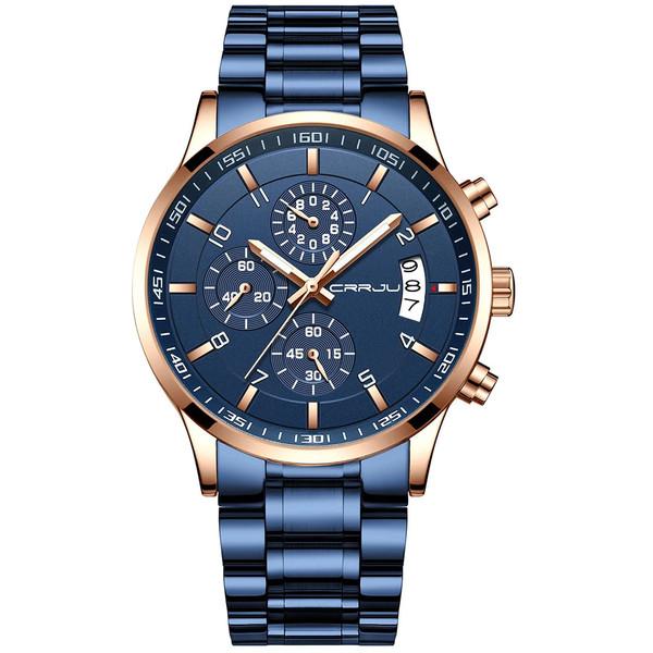 ساعت مچی عقربهای مردانه سی آر آر جی یو مدل krb2214