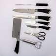سرویس چاقو اشپزخانه 9 پارچه ام جی اس مدل 2210 MGS thumb 4