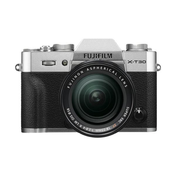 دوربین دیجیتال بدون آینه فوجی فیلم مدل X-T30 همراه با لنز 18-55 میلیمتر