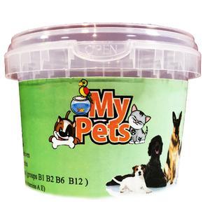غذای تشویقی سگ مای پتز مدل SNACK LUNG LAMBS وزن 50 گرم
