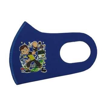 ماسک تزئینیصورت بچگانه طرح بن تن کد 30680 رنگ آبی
