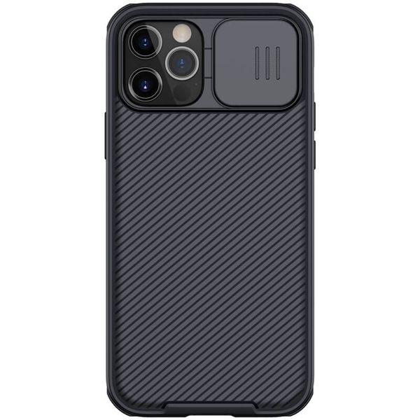 کاور نیلکین مدل Camshield Pro مناسب برای گوشی موبایل اپل IPhone 12 Pro Max
