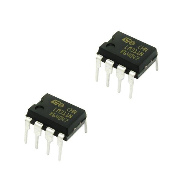 آی سی اس تی مایکروالکترونیکس مدل LM311N بسته 2 عددی