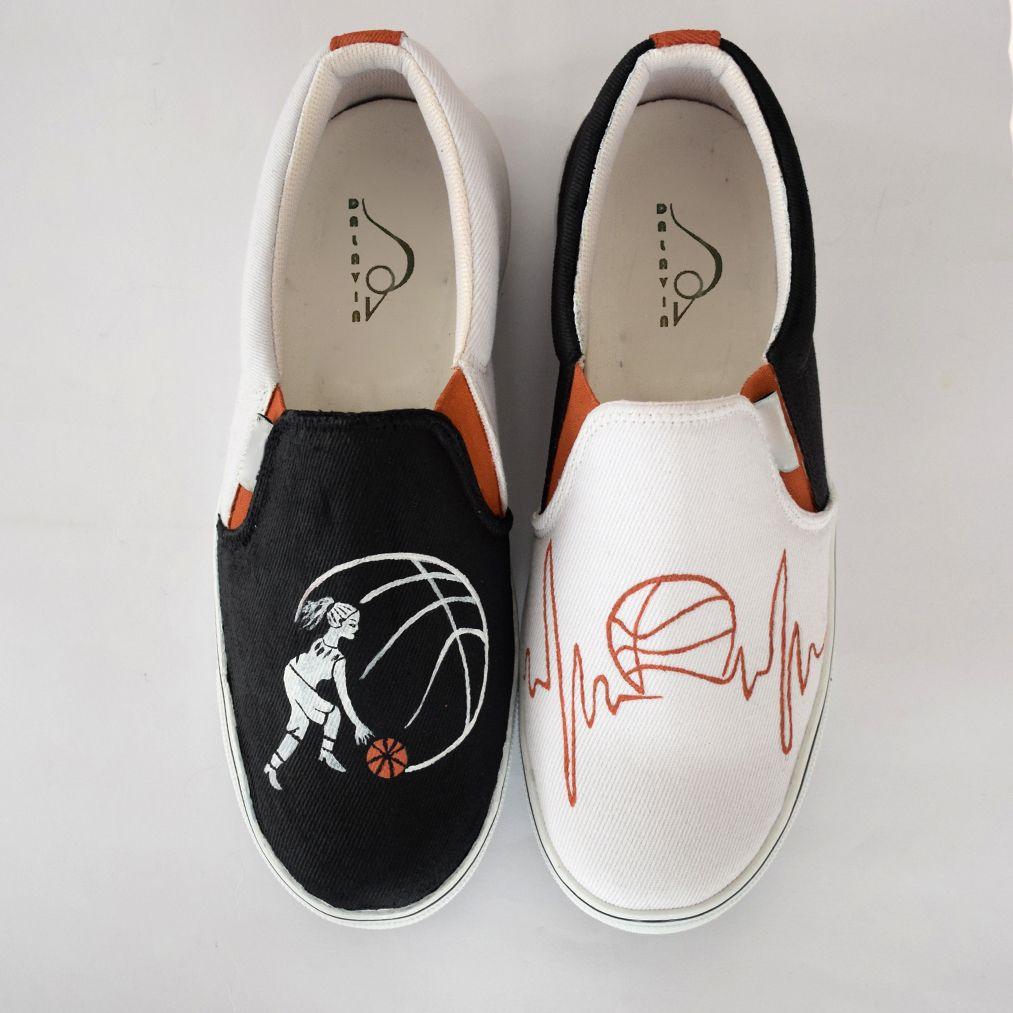 کفش راحتی دالاوین طرح بسکتبال کد V-24 -  - 3