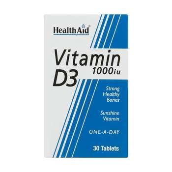 قرص ویتامین د 3 هلث اید بسته 30 عددی