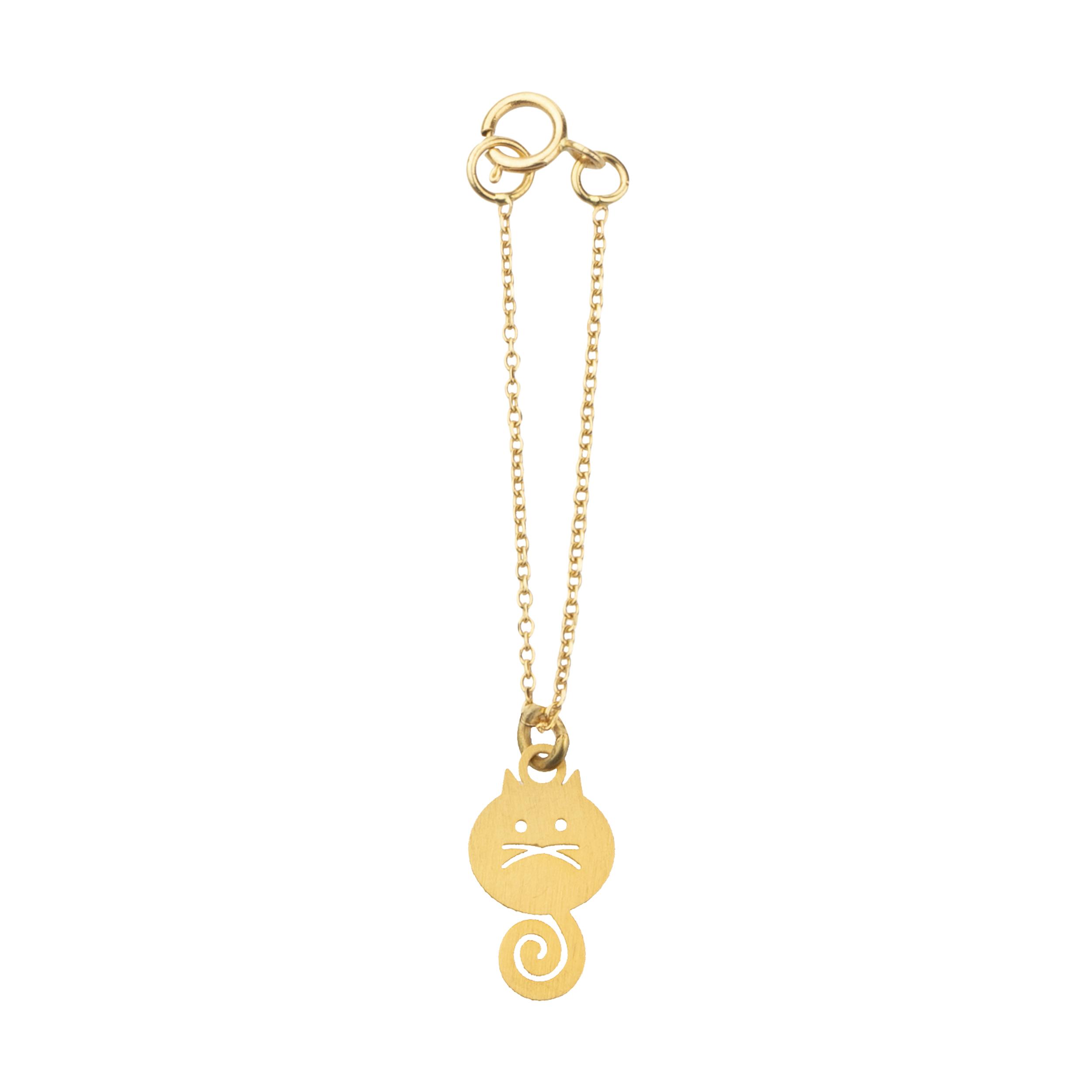 آویز ساعت طلا 18 عیار زنانه میو گلد مدل GD615