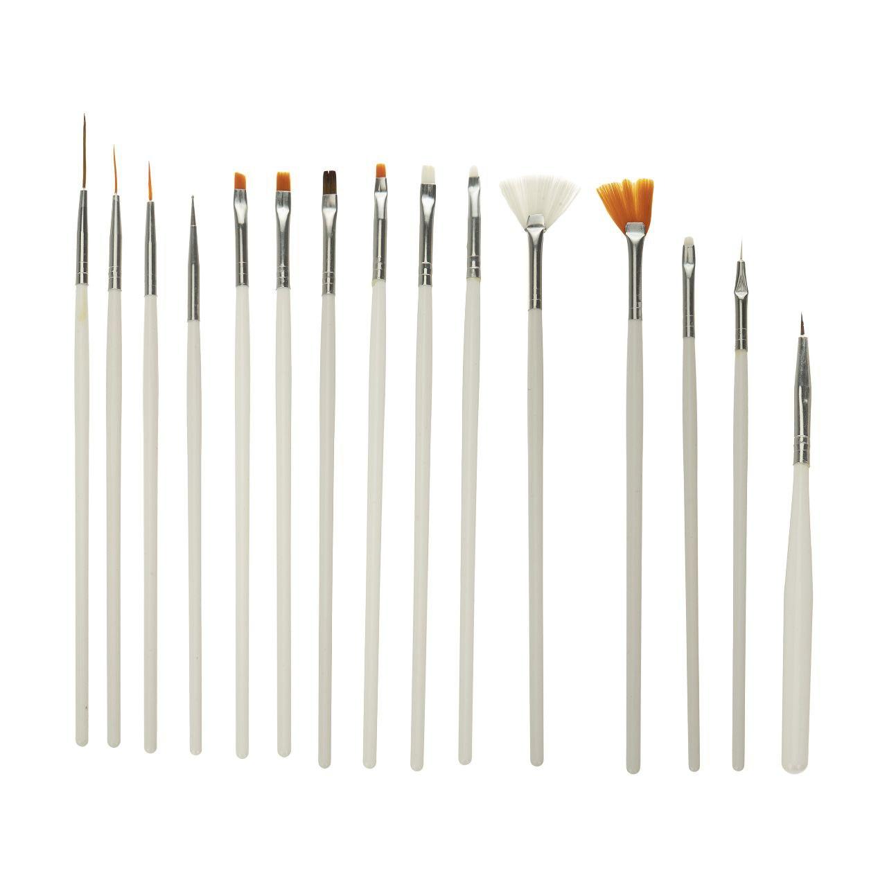 قلم مو مدل L22 مجموعه 15 عددی