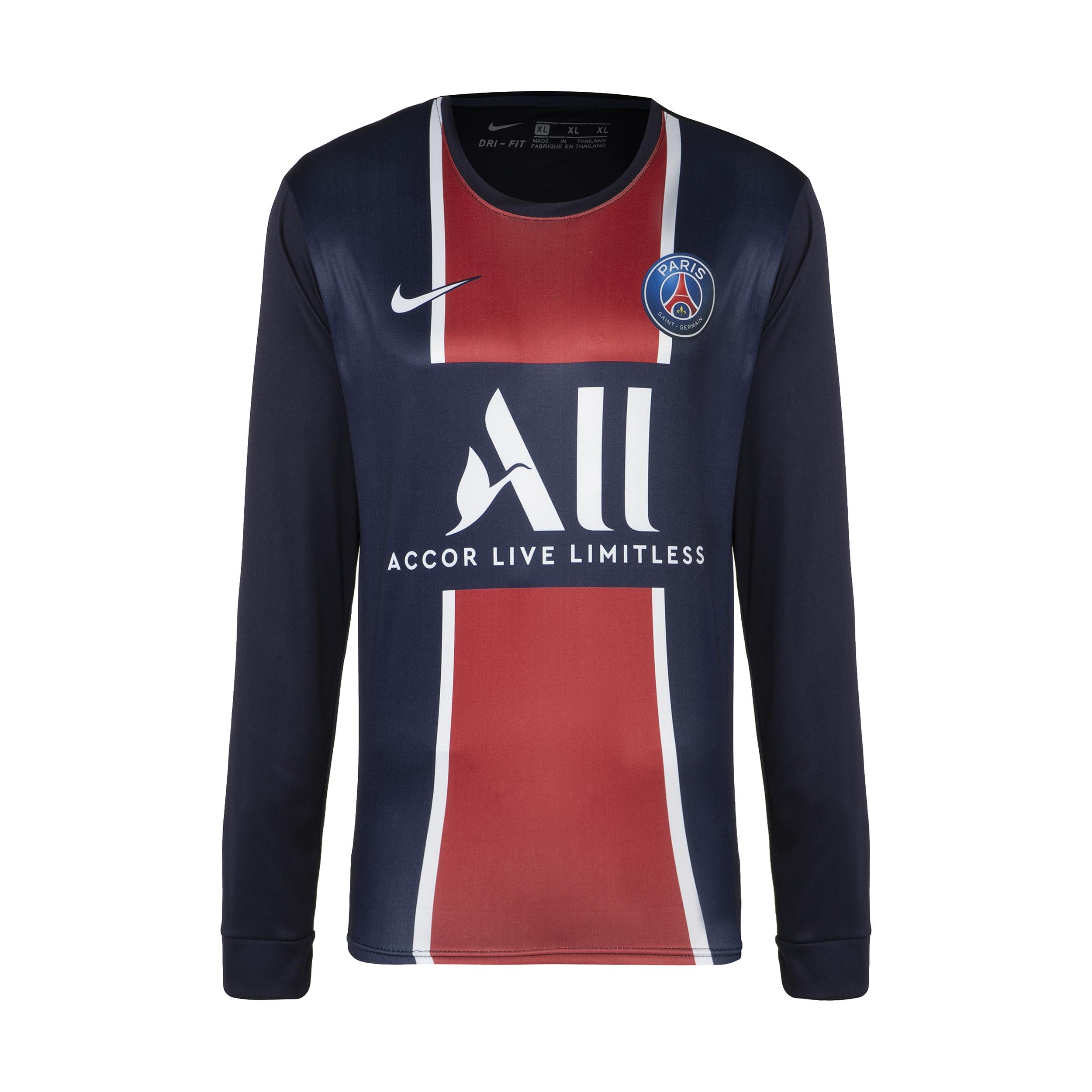 تی شرت ورزشی پسرانه طرح پاری سنت ژرمن مدل 2021                     غیر اصل