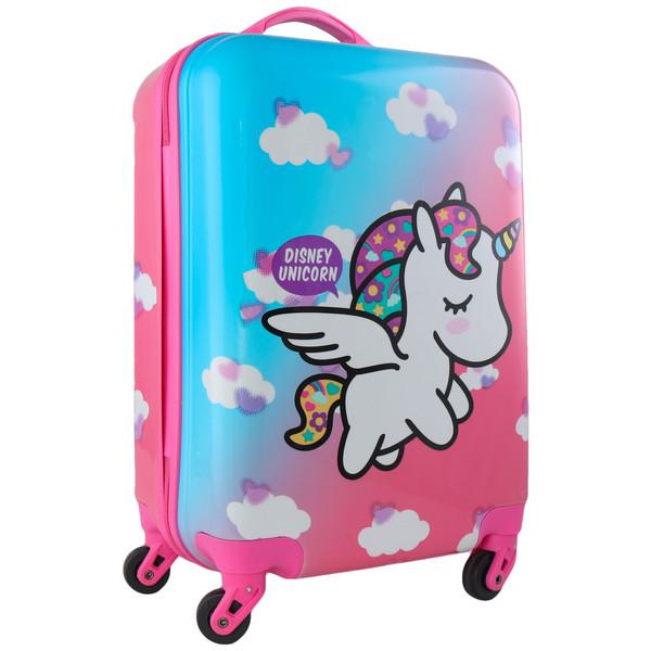 چمدان کودک طرح یونی کورن کد 1