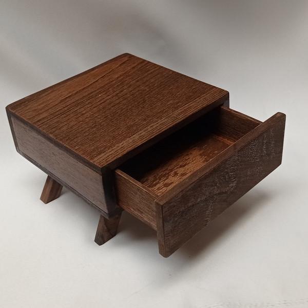 کشو دست ساز مدل چوبی