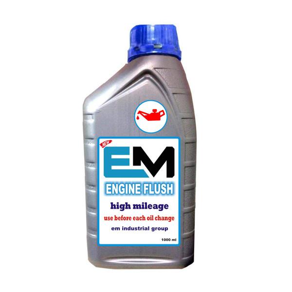 مکمل تمیز کننده موتور خودرو  ای ام مدلEM-9P حجم ۱۰۰۰میلی لیتر