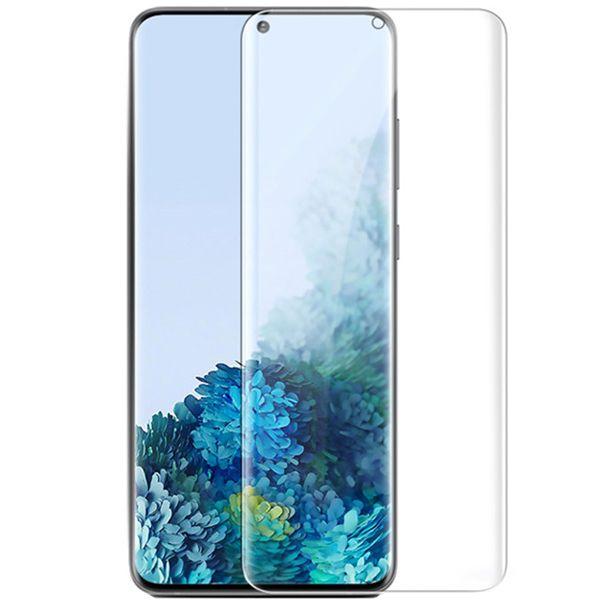 محافظ صفحه نمایش یووی لایت مدل FUZ مناسب برای گوشی موبایل سامسونگ Galaxy S21 Plus