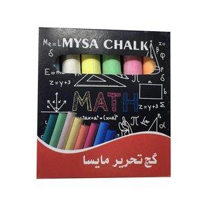 گچ رنگی مایسا مدل ME 6 بسته 6 عددی