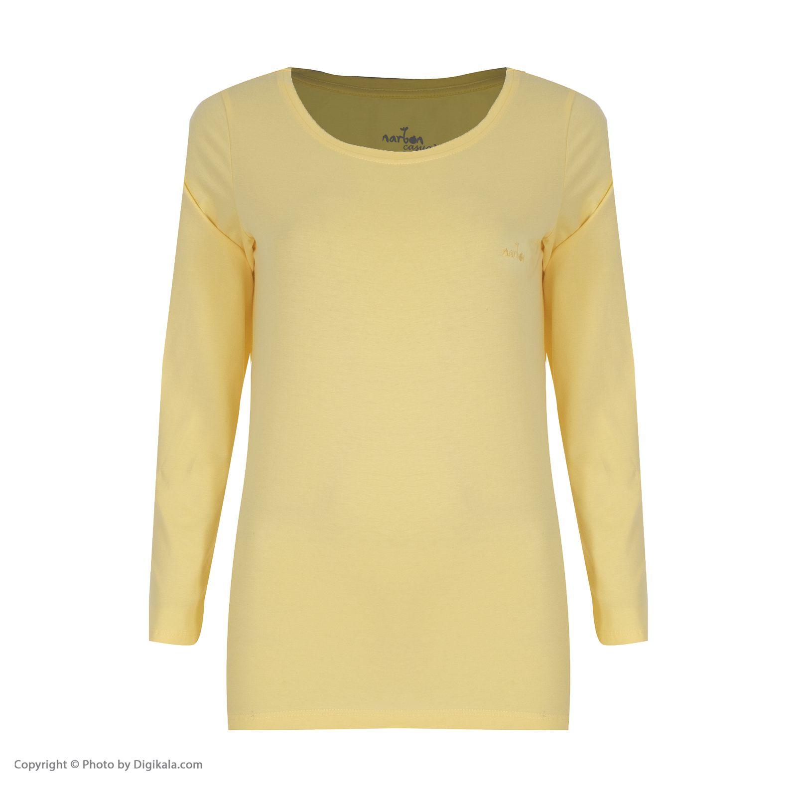 تی شرت زنانه ناربن مدل ۱۵۲۱۲۴۸-۱۹