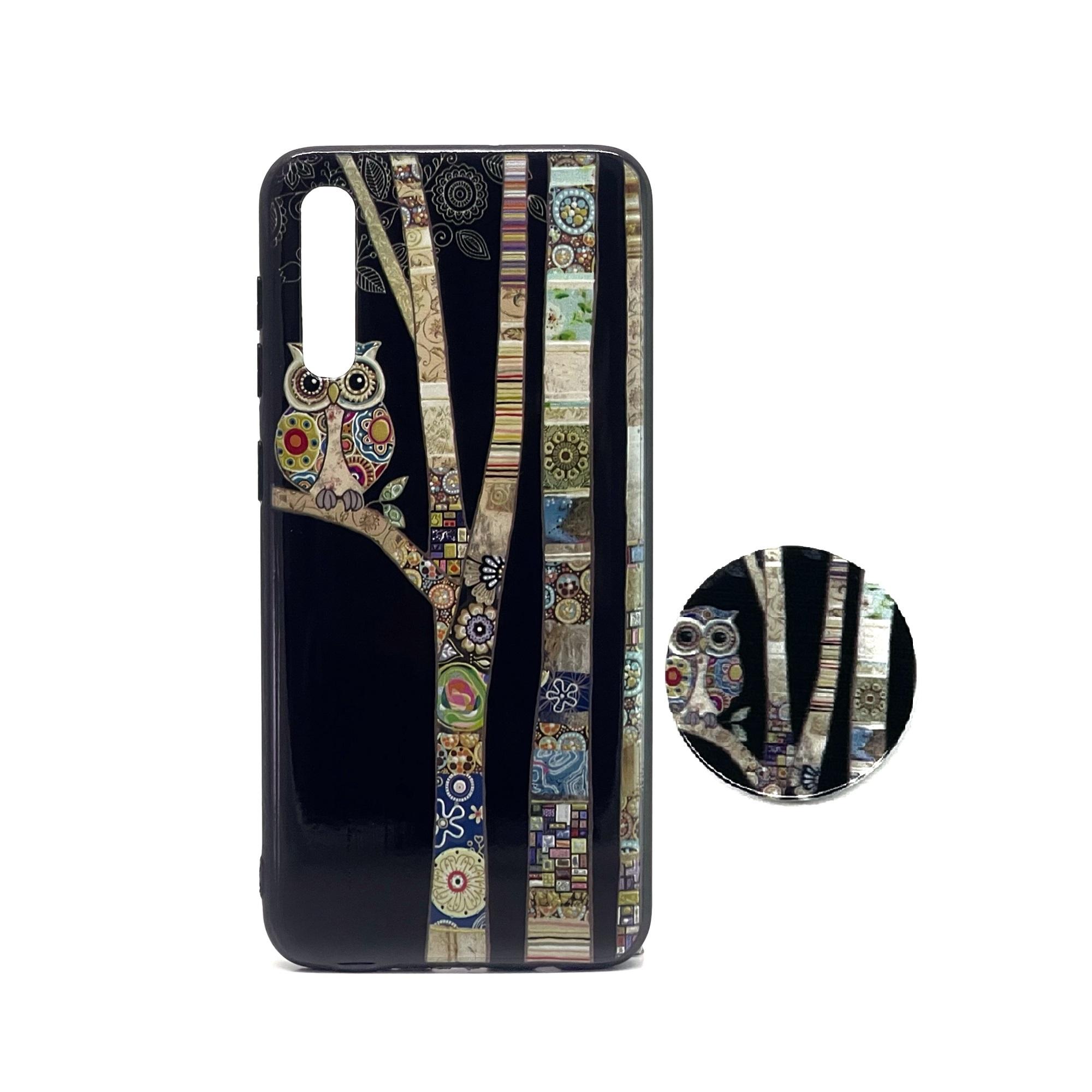 کاور مدل A50-24 مناسب برای گوشی موبایل سامسونگ A50/A50S/A30S به همراه پایه نگهدارنده