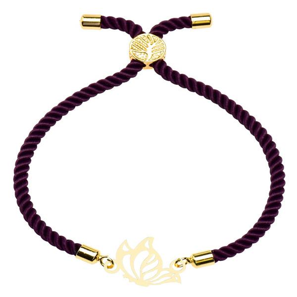 دستبند زنانه کرابو طرح پروانه مدل kb5-1