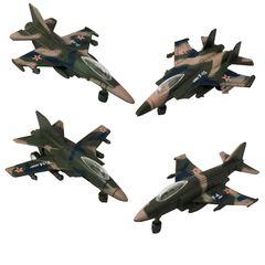 اسباب بازی جنگی مدل هواپیما اف 16 کد 5020 مجموعه 4 عددی