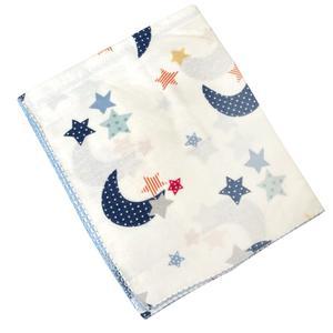 ملحفه کودک اوزلم بیبی مدل ماه و ستاره