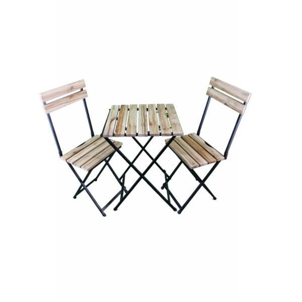 میز و صندلی ناهارخوری 2 نفرهمدل تاشو کد MS1400