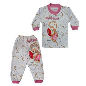 ست تی شرت و شلوار نوزادی تروسکان مدل Sports Bunny 2