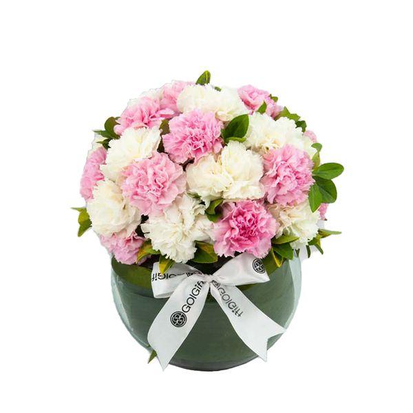 تنگ گل گل گیفت مدل روز مادر کد GG001