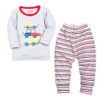 ست تی شرت و شلوار بچگانه بی بی گیفت  کد 601