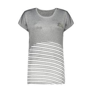 تی شرت زنانه مدل Q75رنگ طوسی