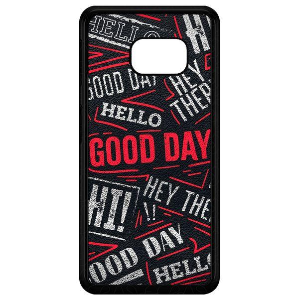 کاور طرح Text مدل CHL50279 مناسب برای گوشی موبایل سامسونگ Galaxy S7