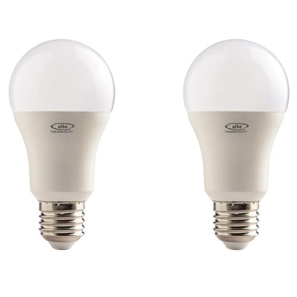 لامپ ال ای دی 9 وات البو مدل حبابی پایه E27 بسته دو عددی