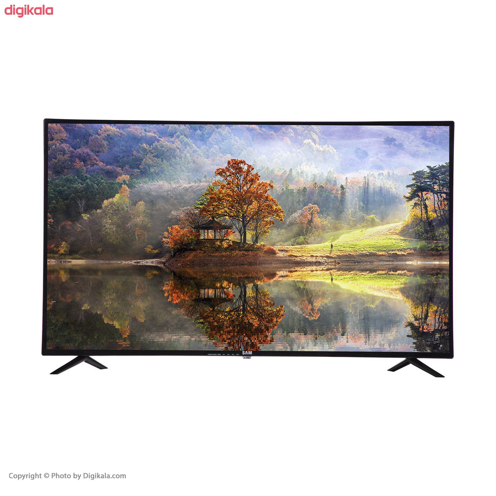 تلویزیون ال ای دی هوشمند سام الکترونیک مدل UA43T5500TH سایز ۴۳ اینچ main 1 1