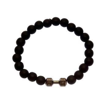 دستبند مردانه مدل دمبل B24