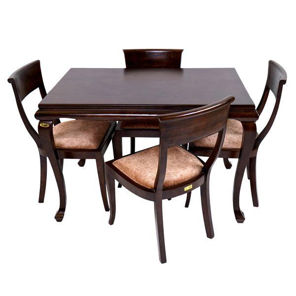 میز و صندلی ناهارخوری 4 نفره آنتیک کد 11514