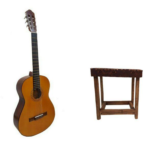گیتار کلاسیک مدل pmax کد 708 به همراه صندلی