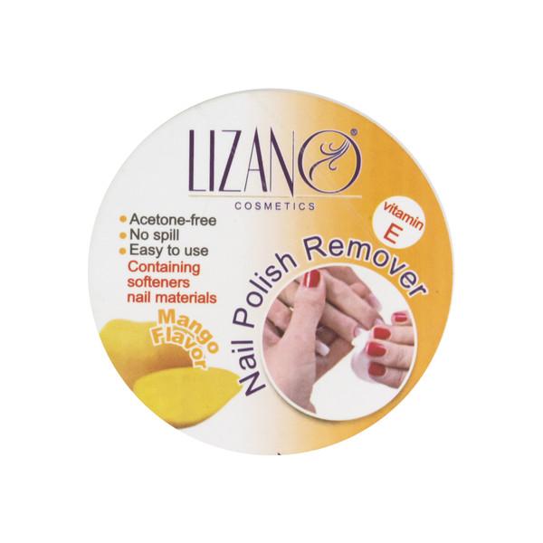 پد لاک پاک کن لیزانو مدل Mango بسته 24 عددی