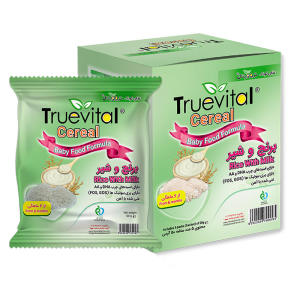 مکمل غذای کودک سرآل برنج و شیر تروویتال - 50 گرم بسته 5 عددی