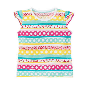 تی شرت دخترانه لوپیلو مدل 308181