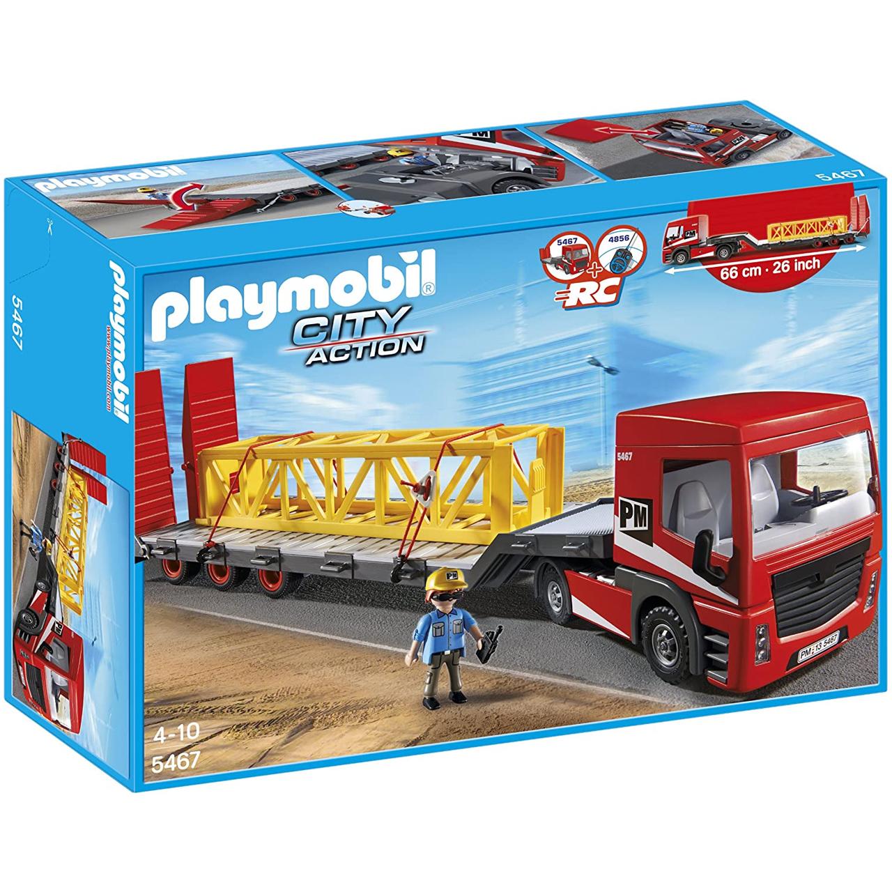 ساختنی پلی موبیل مدل تریلی کد 5467