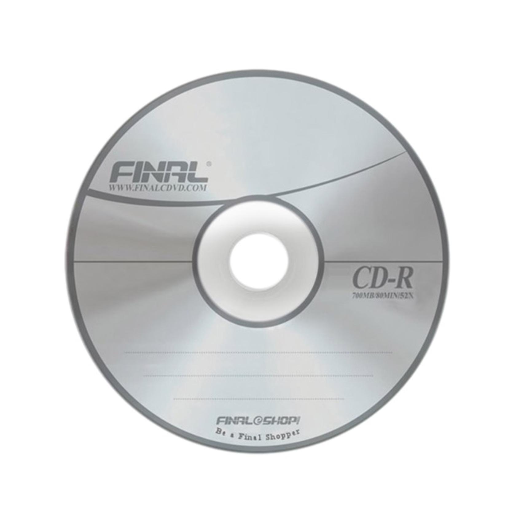 سی دی خام فینال مدل FN1