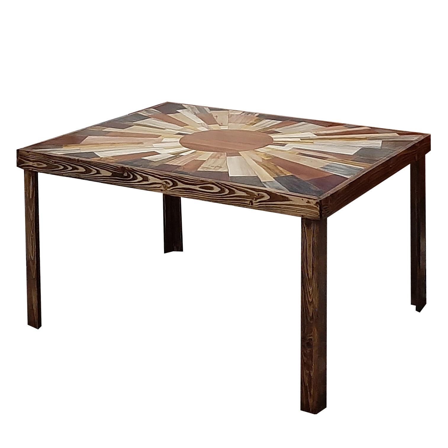 میز جلو مبلی مدل خورشید کد 3