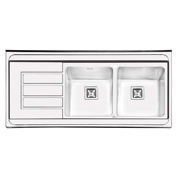 سینک ظرفشویی ایلیا استیل مدل 1062 روکار