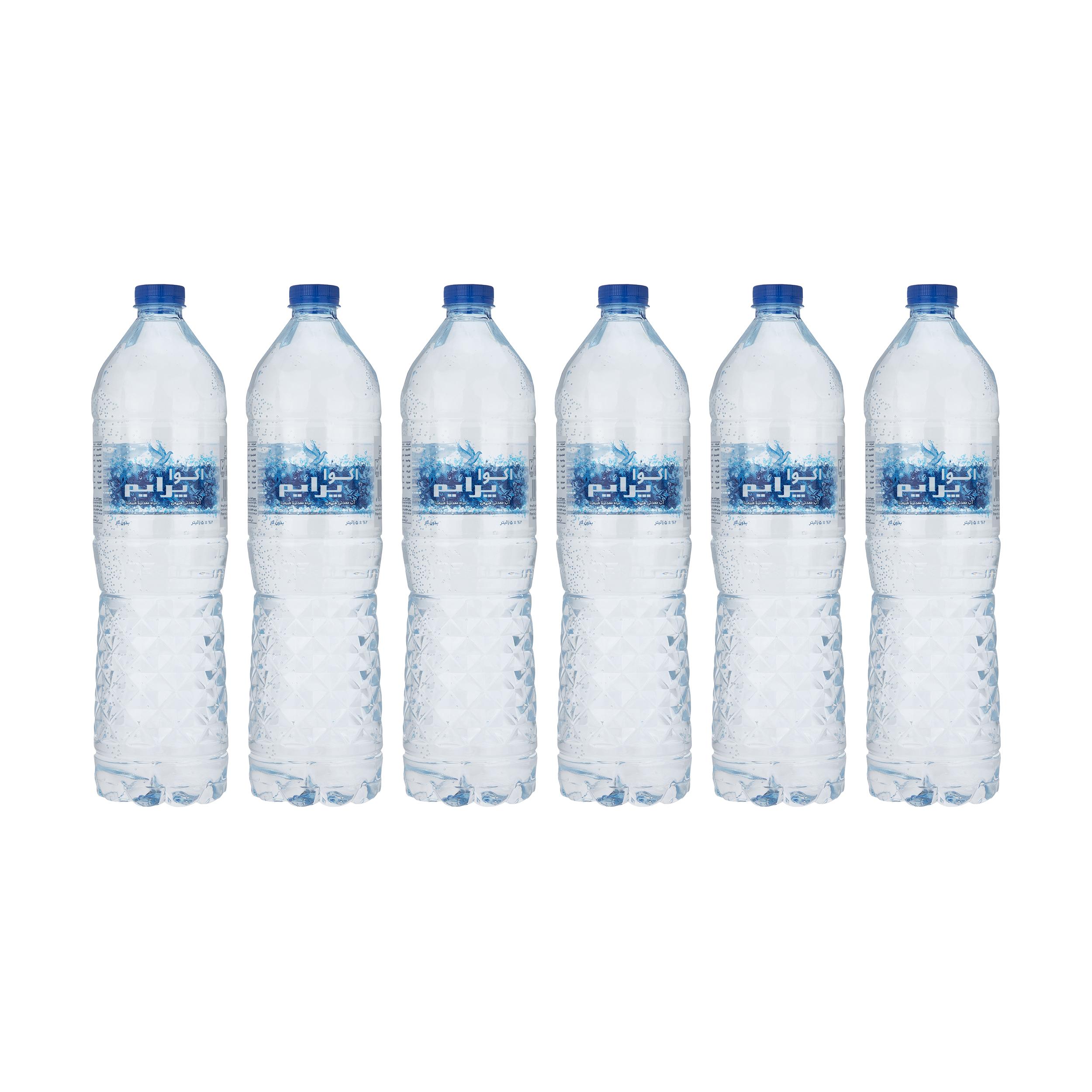 آب معدنی آکوا پرایم -1500 میلی لیتر بسته 6 عددی