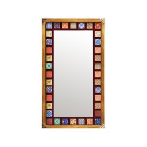 آینه چوبی مدل دکوراتیو کد H17