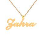 گردنبند طلا 24 عیار زنانه کرابو طرح زهرا مدل Kr1-108