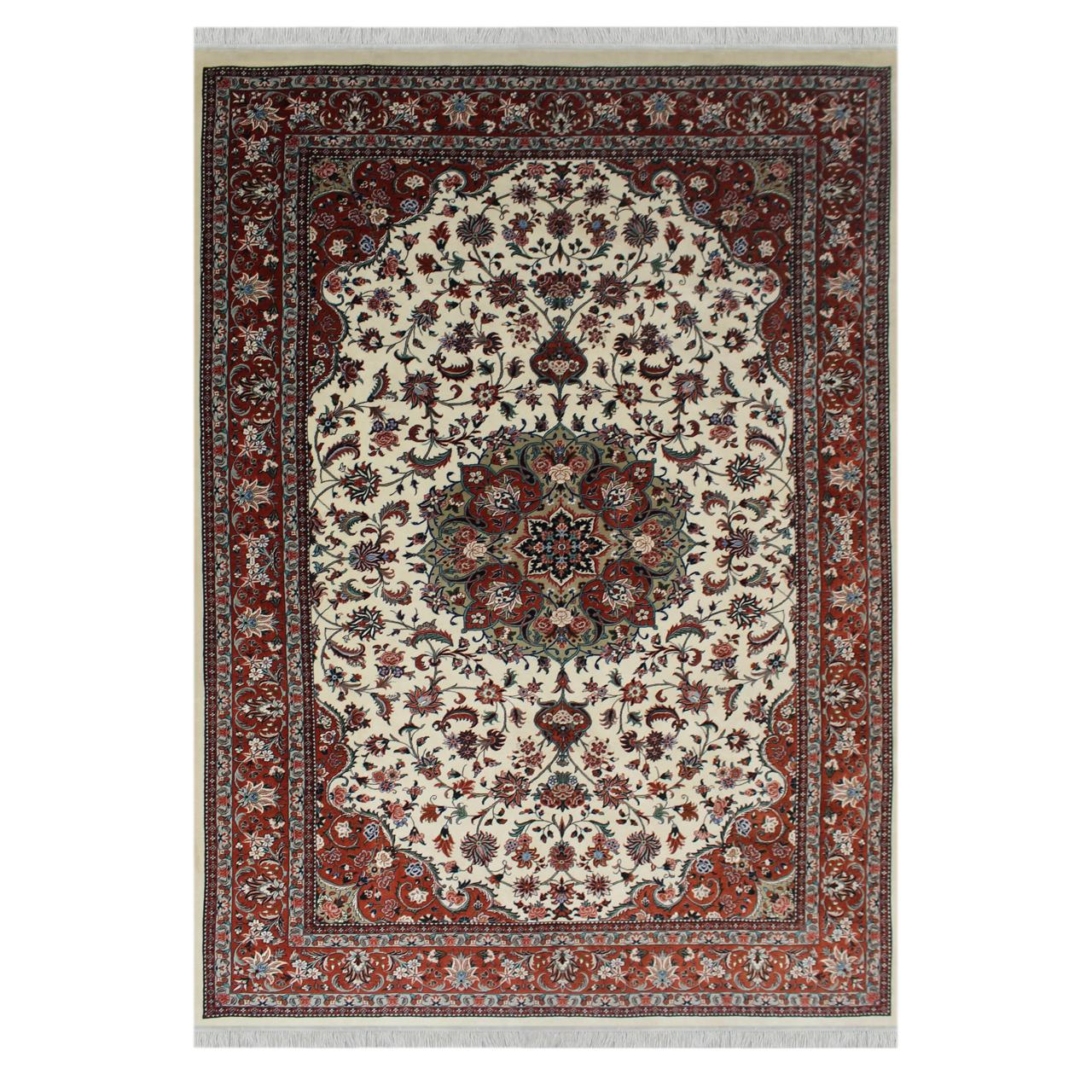 فرش دستبافت شش و نیم متری مدل بیجار کد 1103588
