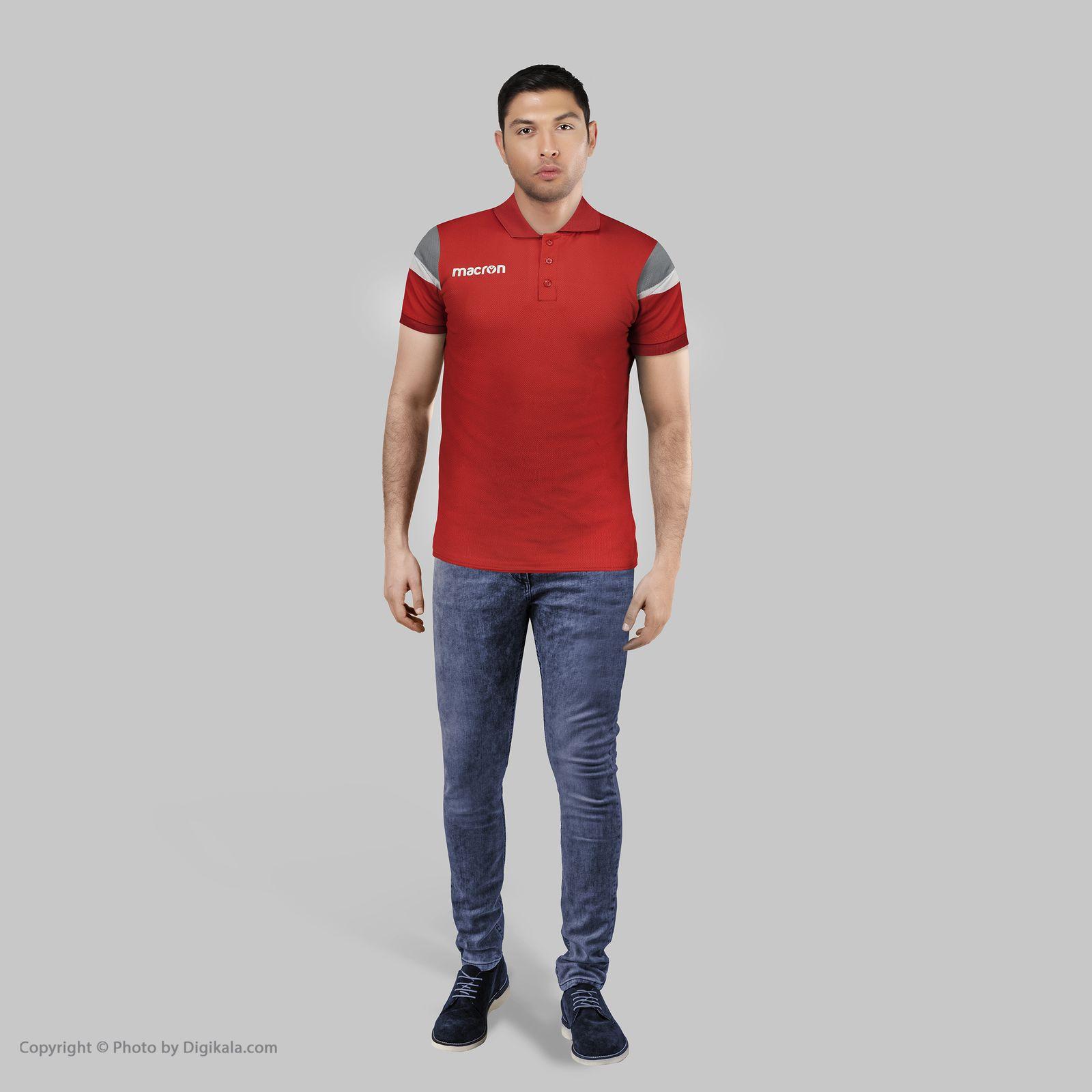 پولوشرت ورزشی مردانه مکرون مدل شوفار کد 35020-72 -  - 8