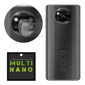 محافظ لنز دوربین مولتی نانو مدل Pro مناسب برای گوشی موبایل شیائومی Poco X3 بسته دو عددی