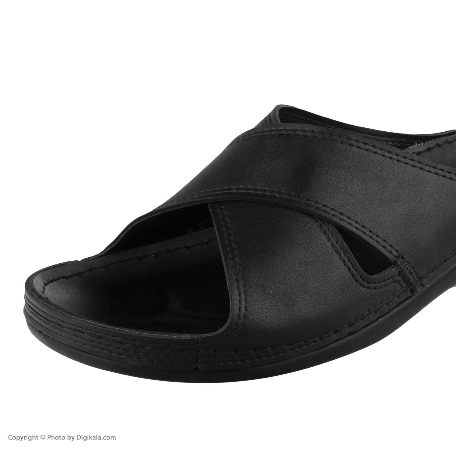 دمپایی زنانه کفش آویده کد av-0304501 رنگ مشکی -  - 5