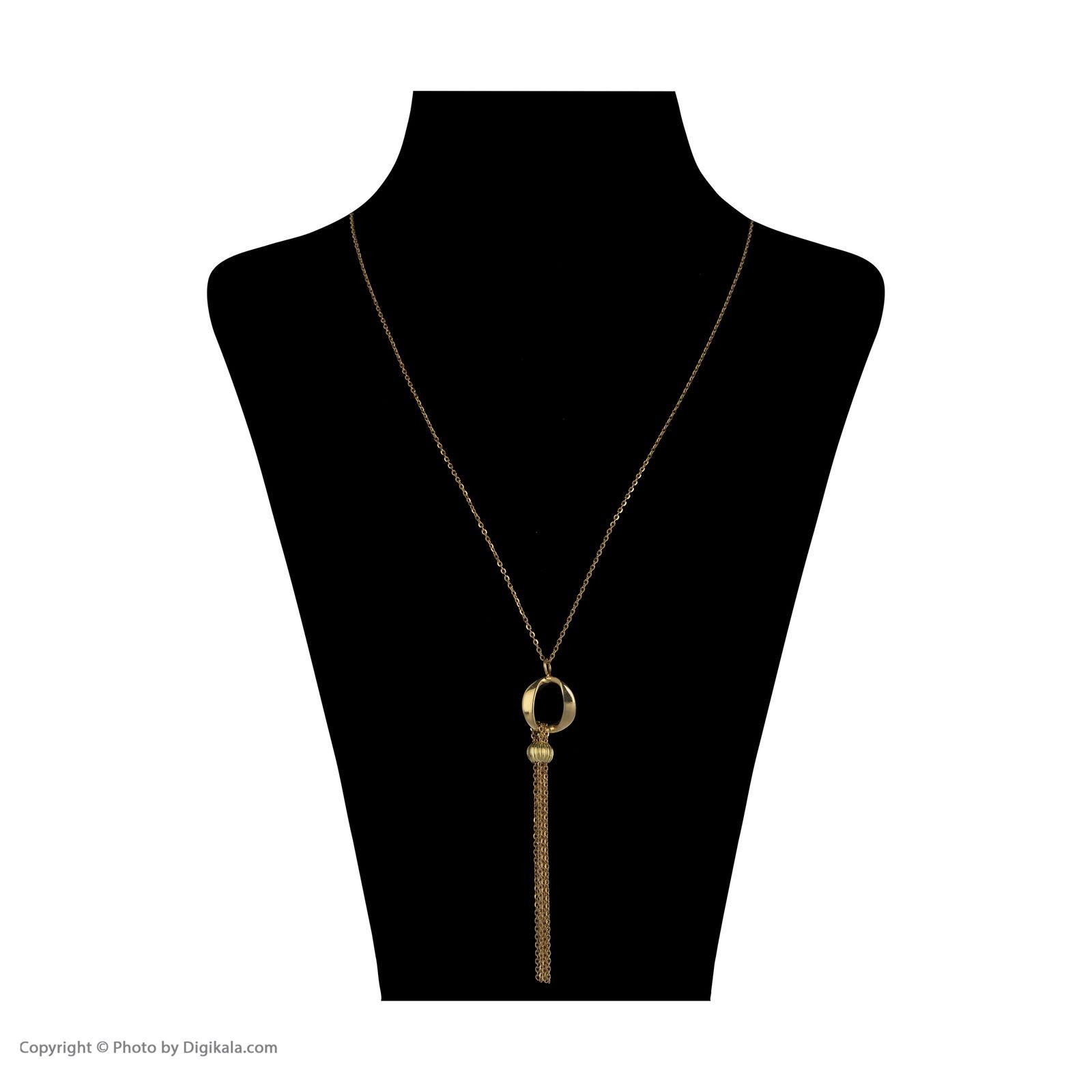 گردنبند طلا 18 عیار زنانه سیودو مدل 145884 -  - 3