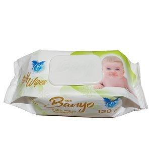 دستمال مرطوب کودک بانیو مدل GreenECE بسته 120 عددی
