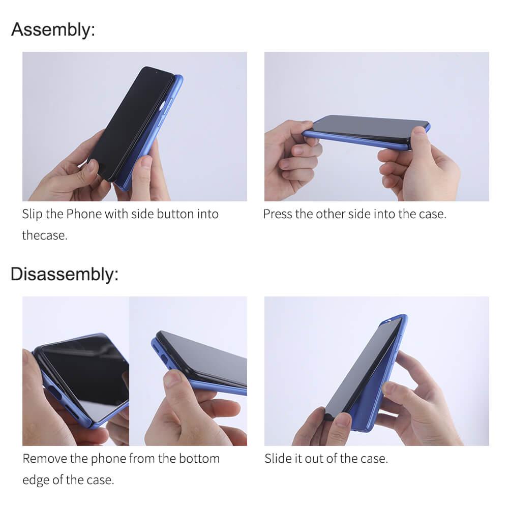 کاور نیلکین مدل Frosted Shield مناسب برای گوشی موبایل شیائومیRedmi Poco X3 NFC main 1 24